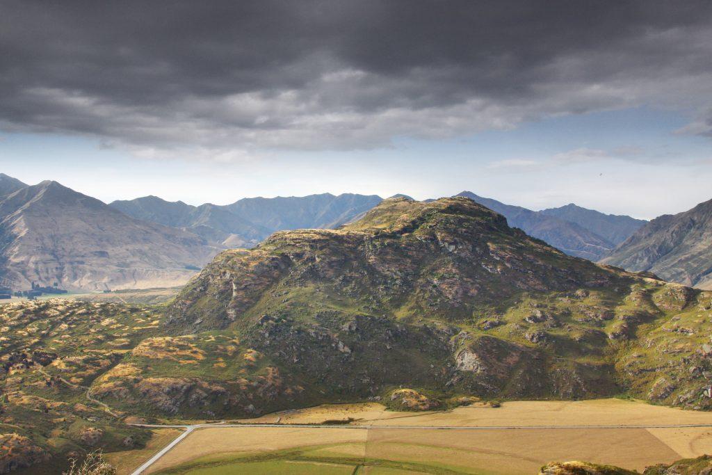 Rocky mountain, Wanaka, New Zealand
